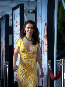 Alyssa Milano arrives