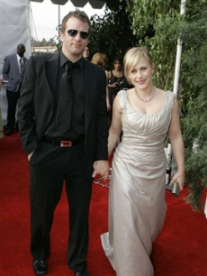 Thomas Jane and Patricia Arquette on the red carpet