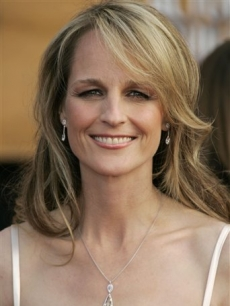 Helen Hunt shows her fresh face