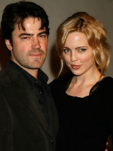 Melissa George and Ron Livingston the Santa Barbara Film Fest