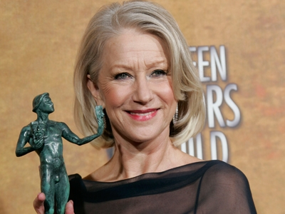 Helen Mirren at SAG