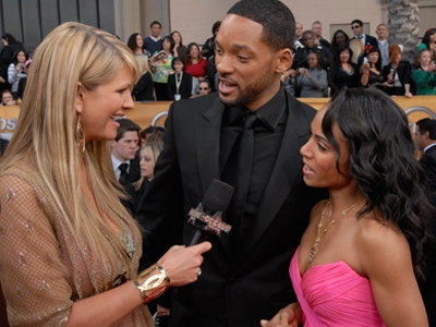 Nancy O'Dell talks to Will Smith & Jada Pinkett-Smith