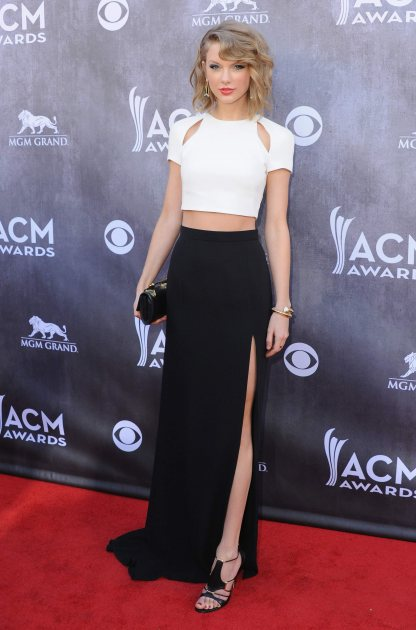 Taylor Swift at the 2014 ACM Awards (FilmMagic)