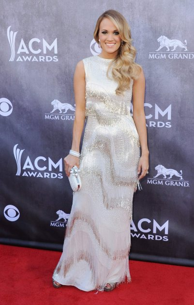 Carrie Underwood at the 2014 ACM Awards (FilmMagic)