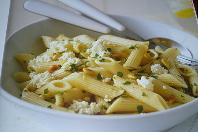 Penne with Feta & Lemon - Michelle Bridges