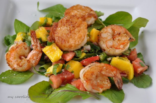 Seared Scallops — Michelle Bridges