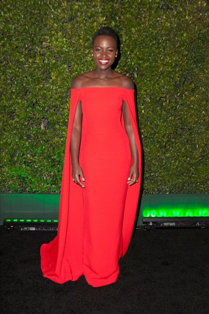 Lupita Nyong'o arrives for Fox And FX's 2014 Golden Globe Awards Party - Arrivals on January 12, 2014 in Beverly Hills (Getty Images)