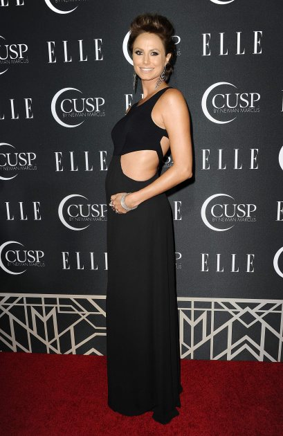 Stacy Keibler attends ELLE's 5th annual Women In Music concert celebration at Avalon on April 22, 2014 in Hollywood (FilmMagic)