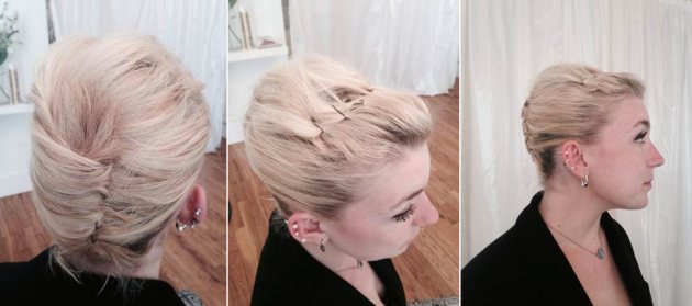 Ricardo Rojas hairstyle — French Twist Up-Do (Ricardo Rojas)