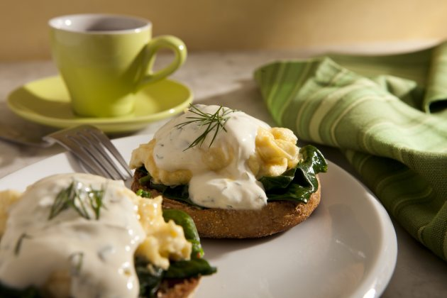 Eggs Florentine - courtesy of Bob Harper