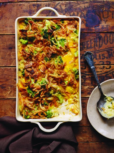 Grace's Favorite Broccoli-Rice Casserole  from Wynonna Judd (Southern Living/Oxmoor House)