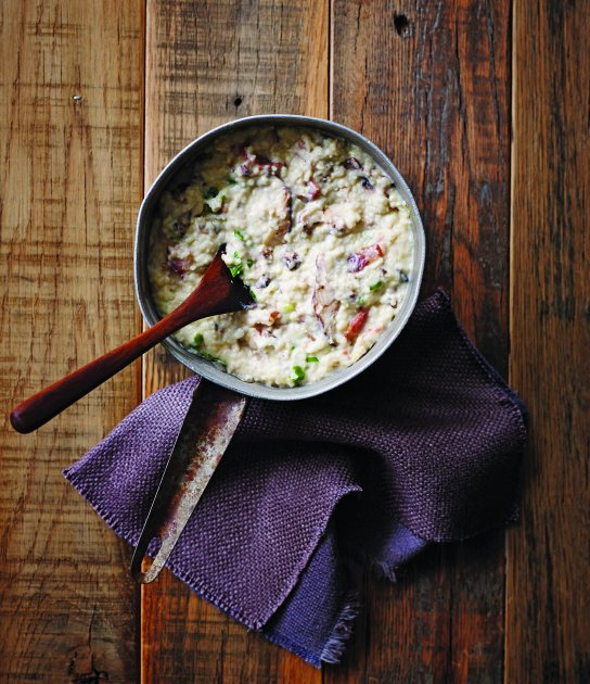 Bacon-Mushroom Stone-Ground Grits from Zac Brown Band (Southern Living/Oxmoor House)