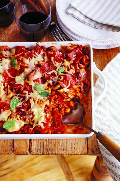 Miss Caron's Pizza Casserole from Allison DeMarcus (Southern Living/Oxmoor House)