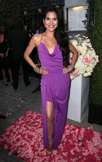 Joyce Giraud attends the grand opening of PUMP Lounge on May 13, 2014 in West Hollywood, Calif. - Getty Images