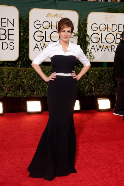 Julia Roberts attends the 71st Annual Golden Globe Awards held at The Beverly Hilton Hotel on January 12, 2014 in Beverly Hills (WireImage)