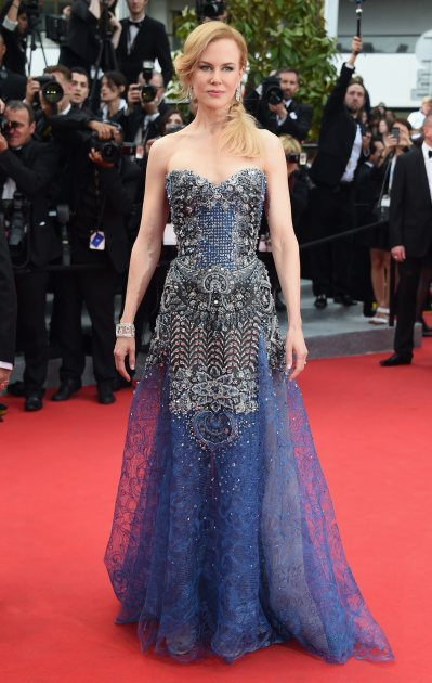 Nicole Kidman attends the Opening Ceremony and the 'Grace of Monaco' premiere during the 67th Annual Cannes Film Festival on May 14, 2014 in Cannes, France (WireImage)