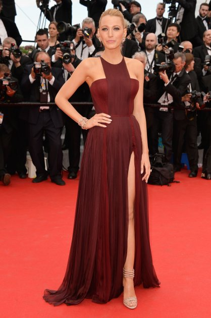 Blake Lively attends the opening ceremony and 'Grace of Monaco' premiere at the 67th Annual Cannes Film Festival on May 14, 2014 in Cannes, France (WireImage)