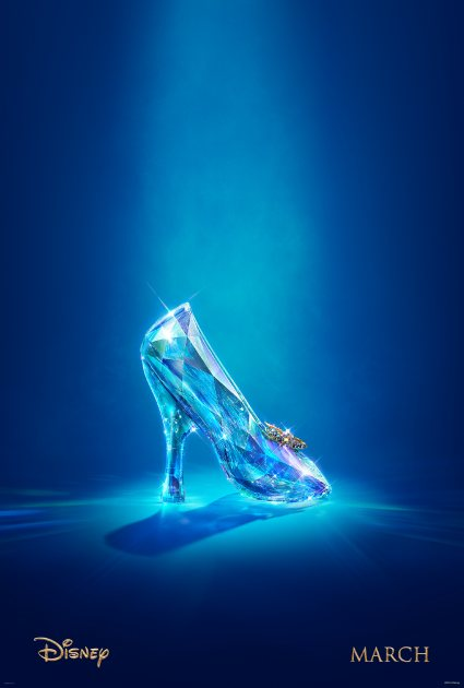 The teaser poster for Disney's 'Cinderella' (Photo Credit: Disney)