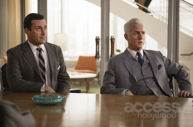 Jon Hamm and John Slattery in 'Mad Men' Season 7, Episode 6 (Photo Credit: Justina Mintz/AMC)
