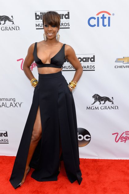 Kelly Rowland attends the 2014 Billboard Music Awards at the MGM Grand Garden Arena on May 18, 2014 in Las Vegas (Getty)