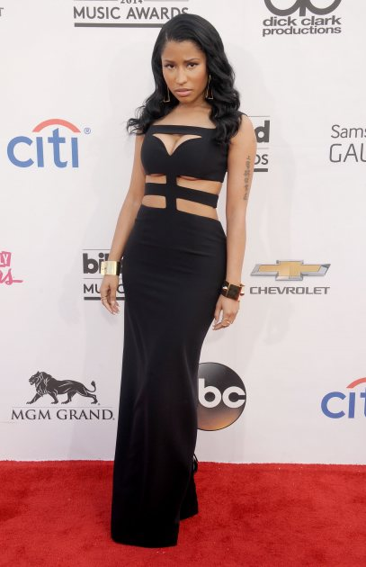 Nicki Minaj arrives at the 2014 Billboard Music Awards at the MGM Grand Garden Arena on May 18, 2014 in Las Vegas (WireImage)