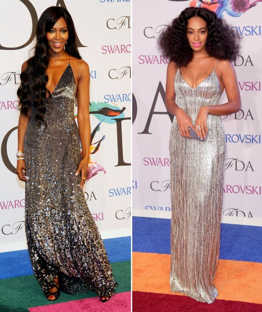 2014 CFDA Awards - Naomi Campbell, Solange Knowles (Getty Images)