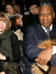 Fashion Week's Queen & King? Anna Wintour & Andre Leon Talley