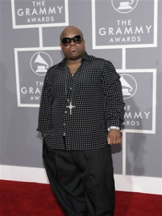 Cee-Lo from Gnarls Barkley arrives