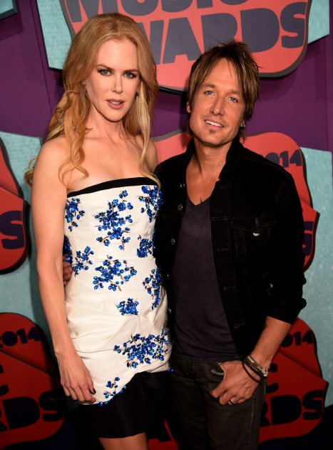 Nicole Kidman and Keith Urban attend the 2014 CMT Music awards at the Bridgestone Arena on June 4, 2014 in Nashville (FilmMagic)