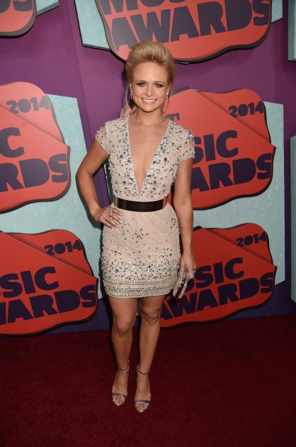 Miranda Lambert attends the 2014 CMT Music awards at the Bridgestone Arena on June 4, 2014 in Nashville
