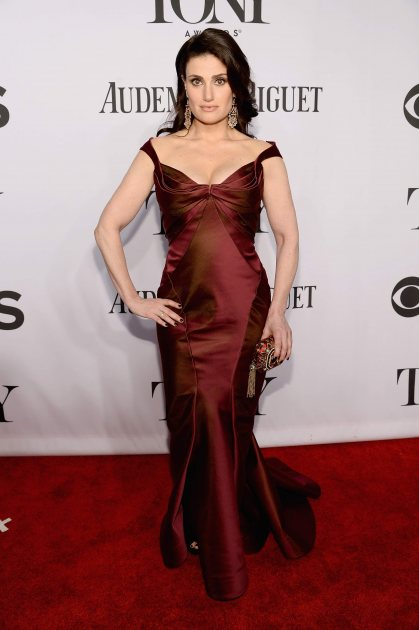 Idina Menzel attends the 68th Annual Tony Awards at Radio City Music Hall on June 8, 2014 in New York City (WireImage)