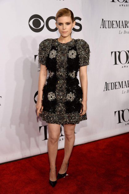 Kate Mara attends the 68th Annual Tony Awards at Radio City Music Hall on June 8, 2014 in New York City (Getty)