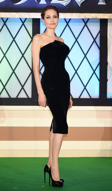 Angelina Jolie attends the 'Maleficent' premiere at Ebisu Garden Place on June 23, 2014 in Tokyo, Japan (Getty)