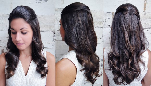 Jessica Simpson's bridal hair how-to (Salon Capri)