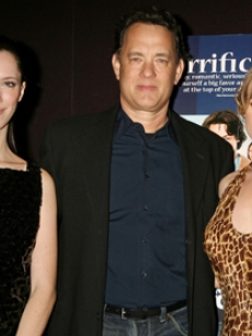 Hanks, Tom - Alice Eve - Rebecca Hall NY 2 13 '07 AP 1