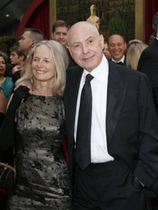 Nominee Alan Arkin with wife Suzanne
