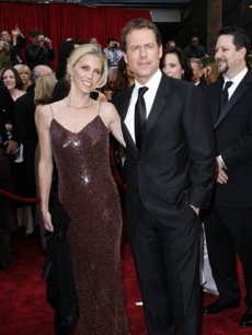 Greg Kinnear and his wife Helen Labdon