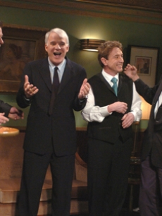 Alec Baldwin, Steve Martin, Martin Short & Paul McCartney