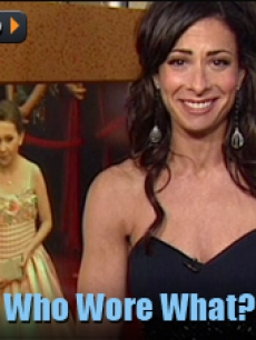 stacy london oscar FLASH