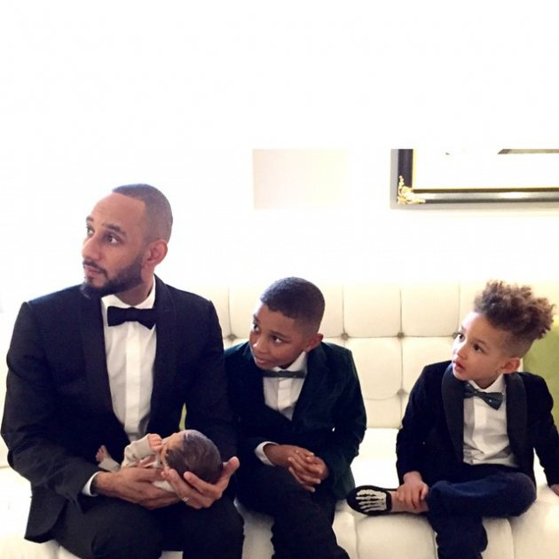 Swizz Beatz Instagrammed a Alicia Keys Baby