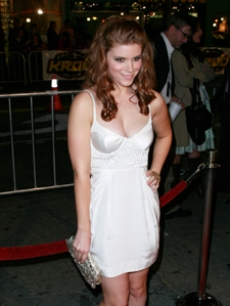 Wahlberg's co-star Kate Mara looks stunning at the premiere