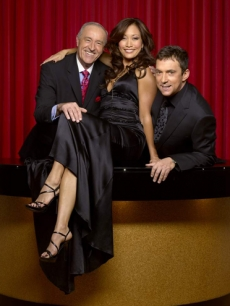 The judges: Len Goodman, Carrie Ann Inaba & Bruno Tonioli