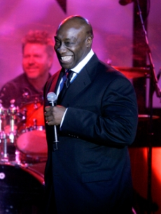 Actor Michael Clarke Duncan at Muhammad Ali's event