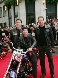 Travolta, John - Tim Allen - Ray Liotta LONDON 3 28 '07 AP 1