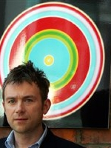 Eric Nicoli CEO EMI Group Damon Albarn Blur Steve Jobs Apple London 4 2 07