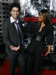 Adrian Grenier and Garcelle Beauvais