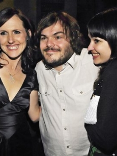Jack Black & wife, Tanya, also show their support