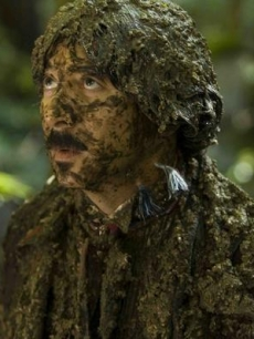 Paul Reubens gets muddy