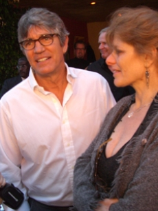 Eric Roberts who plays Thompson hit the red carpet