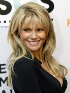 Gorgeous Christie Brinkley arrives at the Tribeca Film Festival